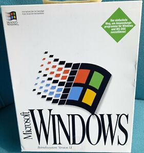 Microsoft Windows 3.1 (V. 3.11) - Disketten - Deutsch - 050-031DV311 - NEUWARE