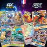 Lots de cartes Pokemon neuves GX MEGA EX ESCOUADE brillantes en français Cadeaux