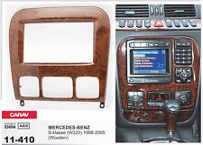 CARAV 11-410 2Din Marco Adaptador de Radio para MERCEDES-BENZ S (W220) 1998-2005