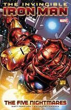 Invincible Iron Man, Vol. 1: The Five Nightmares, Matt Fraction