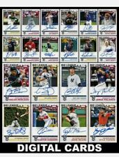 DIGITAL CARD TOPPS BUNT 2020 BIG LEAGUE ALL 58 COMMON AND UNCOMMON CARDS