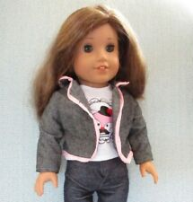 American Girl  Long Brown Hair in Very Good Condition