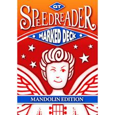 GT Speedreader Marked Deck (809 Mandolin Blue Back)  from Murphy's Magic