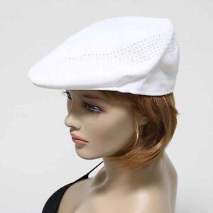 Men Mesh Ivy Hat Fashion Newsboy Cabbie Ventair Flat Golf Cap Unisex Hats New
