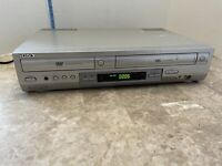 Sony SLV-D300P DVD VCR Player Combo Recorder No remote Tested Works