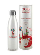 2018 FIFA WORLD CUP RUSSIA THERMOS FLASK BOTTLE 500ML(16,9 OZ) EMBLEM PEARL