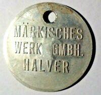 Märkisches Werk Halver Werkzeugmarke Nr.18. Los 251