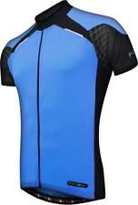 Short Sleeve Cycling Jerseys with Full Zipper