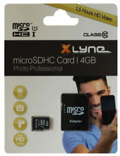Xlyne Micro SDHC Karte 4GB Speicherkarte UHS-I Class 10