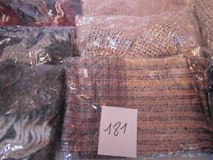 LOT REVENDEUR SOLDERIE DESTOCKAGE 10 ECHARPES CACHEMIRE (lot181)