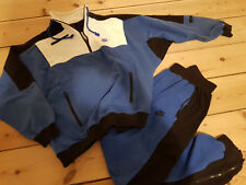 Vintage Nike Air Jordan Flight suit Large 1989 90s Force bred military blue warm