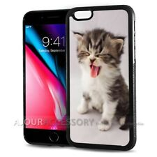 ( For iPhone 7 ) Back Case Cover AJ10666 Cute Pussy Cat