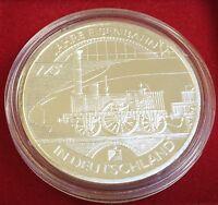 10 EUR 2010  D - 175 Jahre Eisenbahn in Deutschland, 925er Silber, PP, Jäger 556