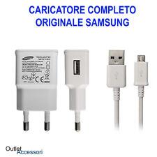 Alimentatore Caricabatteria Originale Samsung Cavo Galaxy S2 S3 S4 S6 J3 J5 J7