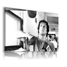 ROCKY BALBOA CREATED BY SYLVESTER STALLONE Canvas Wall Art Picture SS1 MATAGA .