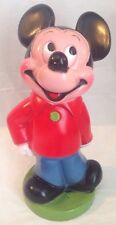 Vintage Mickey Mouse Collectible Coin Bank-Play Pal Plastics