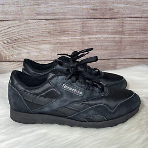 Reebok Classic Nylon BD5993 Black Carbon Mens  Shoes Sneakers Size 12