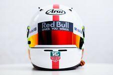Stickers pack for helmet (Red Bull RED design) (Karting, Motorsport)