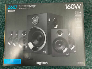 Logitech Z607 5.1 Channel Wireless Portable Speaker System  - Black - New