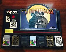 Zippo Lighter Collection (8 Pieces) The Three Stooges Designs