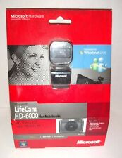 Microsoft LifeCam HD-6000 NIB 720p HD Widescreen Video