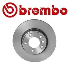 For Porsche Cayenne Front Left or Right Disc Brake Rotor X-Drilled Coated Brembo
