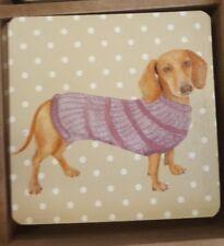 Dog lovers gift Dachshund / Sausage Dog Coaster