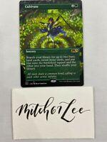 MTG Magic the Gathering - BORDERLESS Cultivate - Core Set 2021