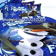 Disney Frozen . ҉ . Olaf & Sven . ҉ . Double/US Full Bed Quilt Doona Duvet Cover