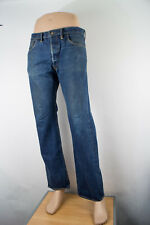 Ralph Lauren RRL Selvage 34 (35 X 32) USA Men's Jeans Button Fly Medium Wash