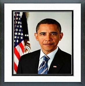 """Barack Obama Official 2009 Portrait Photo (Size: 12.5"""" x 15.5"""") Framed"""