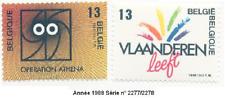 Année 1988  Série de 2 Timbres poste Dynamique des régions N° 2277 & 78