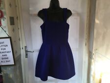 Topshop Ladies Skater Dress Size 12, Beautiful Design, Lovely Condition.