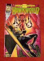 DC Comics -- Hawkworld #15 -- War of The Gods 4 (Sept 1991) VG