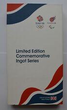 2012 London Olympics TEAM GB Édition Limitée commémorative LINGOT Série