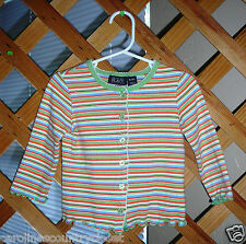 THE CHILDREN'S PLACE SWEATER~Cardigan~Multi Color~Infant Girls 18 Months