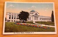 New National Museum Washington DC vintage postcard - flower garden - OLD!
