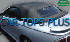 1994-2004 Ford Mustang Convertible Top Only, Black Vinyl