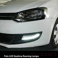 2XlED DRL Driving Daytime Running light Fog for Volkswagen Polo 2011