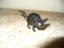 Cast Iron RusticMetal Animal Mice Mouse Rodent Figurine Statue Home Garden Decor