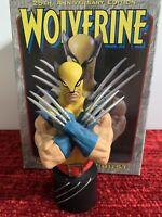 Wolverine Mini Bust: Yellow Costume Bowen Designs Logan X-Men MINT