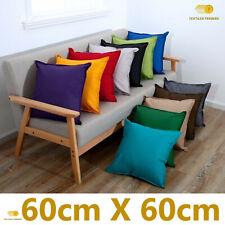 New Waterproof Garden Cushion Covers Furniture Seat Indoor Outdoor 60 X 60 CM