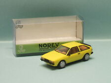 Norev-wolkswagen vw scirocco II yellow new nbo oh 1/87