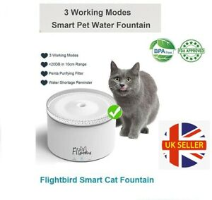 Smart Cat Drinking Water Fountain Pet Dog Electric Automatic Bowl Feeder Filter
