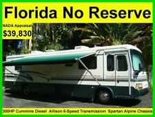 NO RESERVE 1999 NEWMAR DUTCH STAR 38FT SLIDE OUT 300HP DIESEL RV MOTORHOME