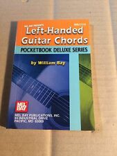 Left-handed Guitar Chords-Pocketbook Deluxe series-William Bay-sin notas