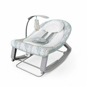 Ingenuity Keep Cozy 3-in-1 Grow with Me Vibrating Bouncer & Rocker Infant to Tod