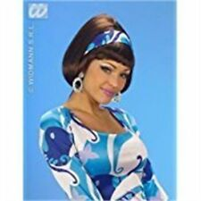 Pelucas y postizos pelo sintético Años 70 para disfraces y ropa de época