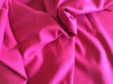 "HOT PINK COTTON-60"" WIDE- 1 1/2 YARDS"
