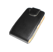 NEW OKER BLACK LEATHER BLACKBERRY CURVE 8520 8530 CASE SUPER FAST SHIPPING